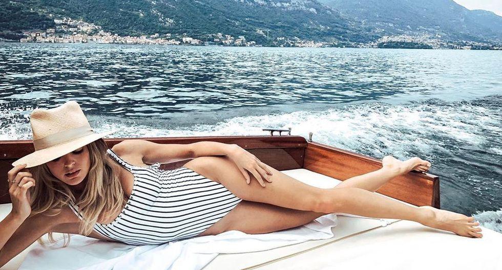 Miley Cyrus disfruta de unas vacaciones en Italia con Kaitlynn Carter. (Foto: kaitlynn)