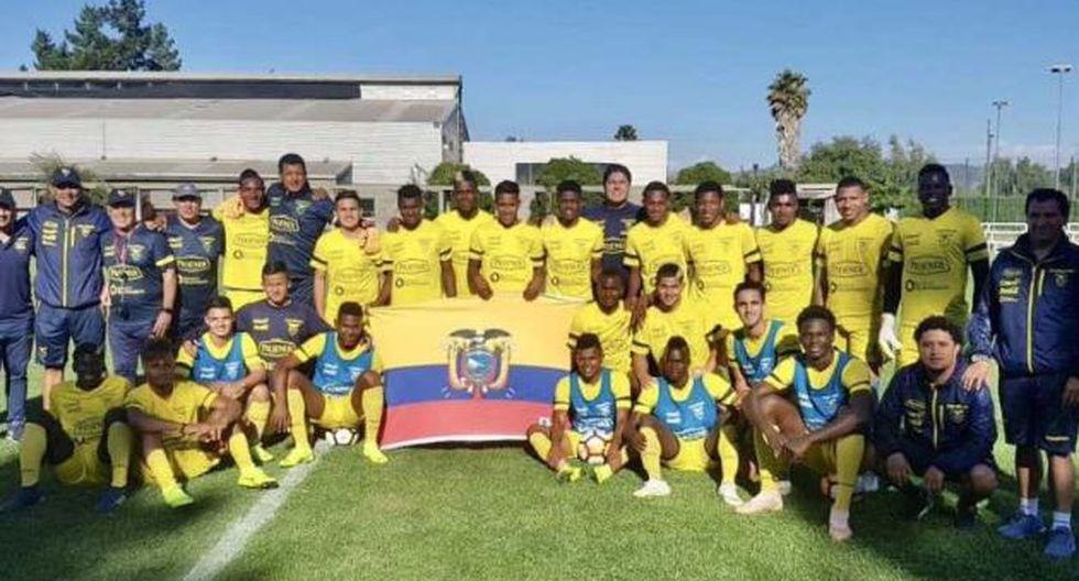 Ecuador vs. Paraguay se miden por el Sudamericano Sub 20. (Foto: @FEFecuador)