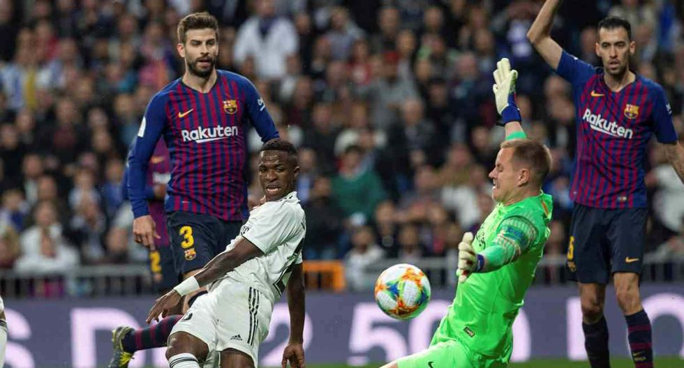 El día y horario del primer Barcelona-Real Madrid de la temporada. (Foto: EFE)