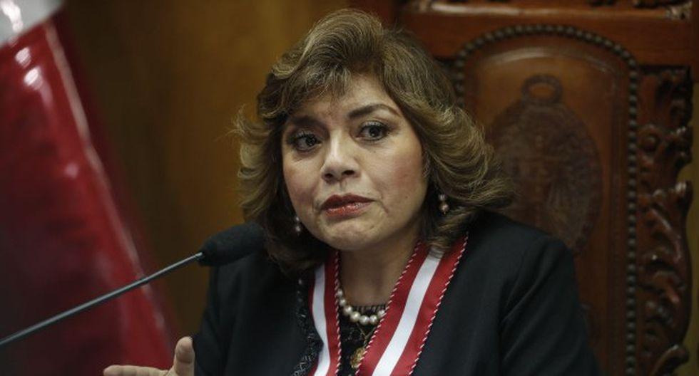 Fiscal de la Nación, Zoraida Ávalos. (Foto: GEC)