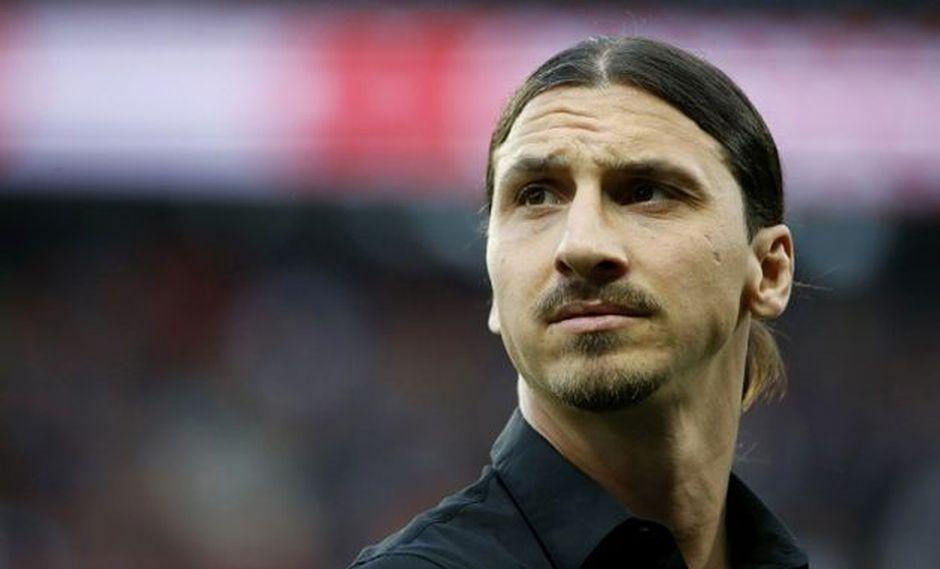 Zlatan Ibrahimovic. (Foto: AFP)