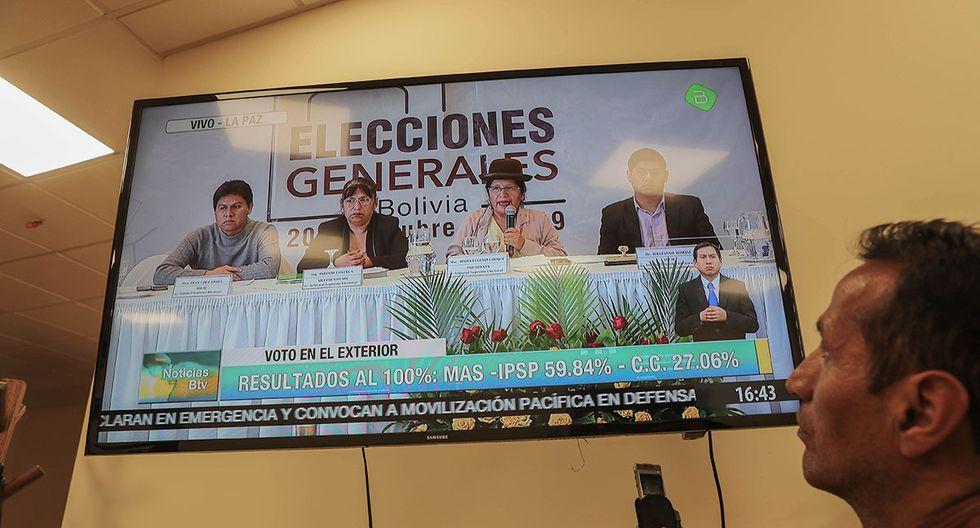 La OEA indicó que lo mejor sería realizar una segunda vuelta en las elecciones presidenciales en Bolivia, ante las acusaciones de fraude. (Foto: EFE)