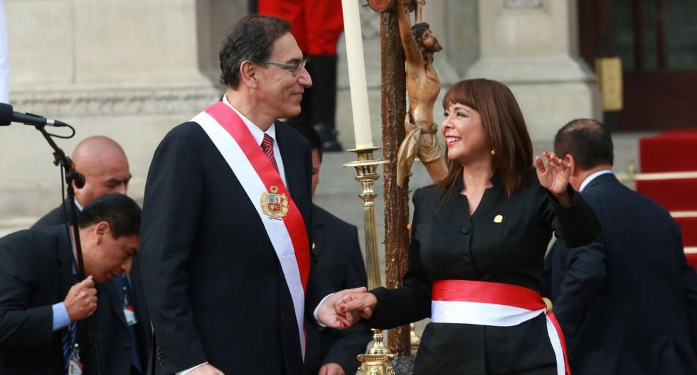 Liliana La Rosa, ministra de Desarrollo e Inclusión Social. Renunció junto a César Villanueva. (Foto: GEC)