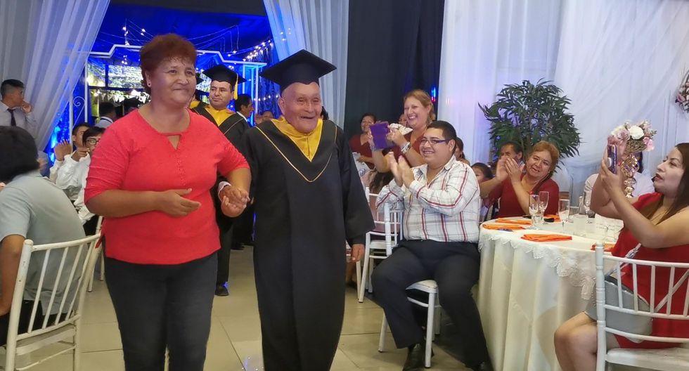 Don Alejo precisó que tuvo el total respaldo de su familia en esa aventura que emprendió en el 2018. (Foto: @drelm_lima)