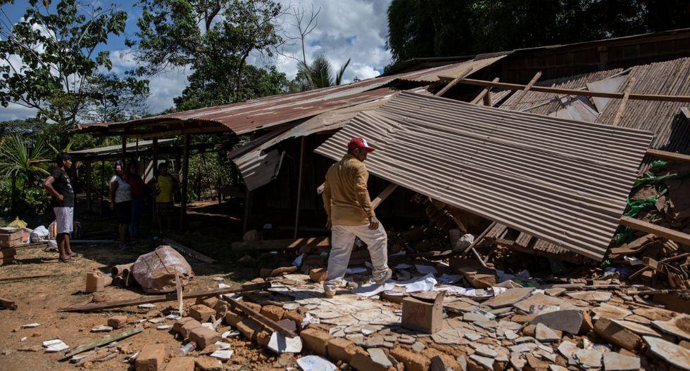 Ejecutivo declara en emergencia otros 14 distritos por desastre por 60 días calendario. (Foto :Anthony Niño De Guzmán)
