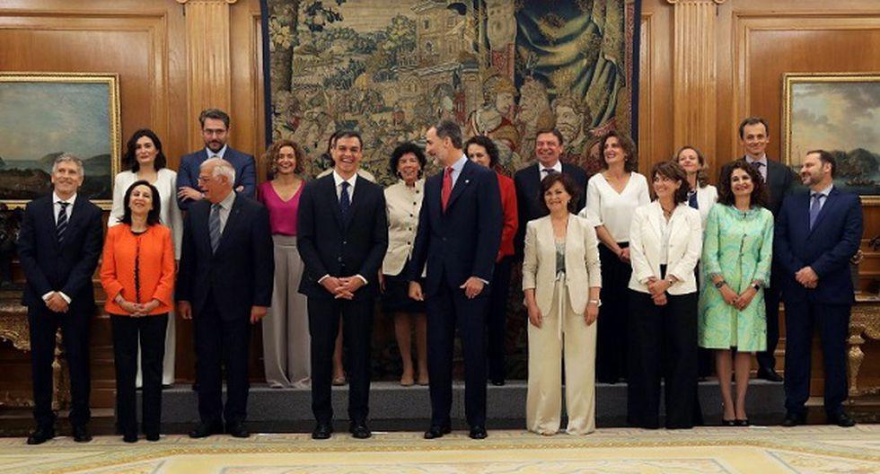Ejecutivo de Pedro Sanchez es el más femenino de la Unión Europea (Foto: AFP)