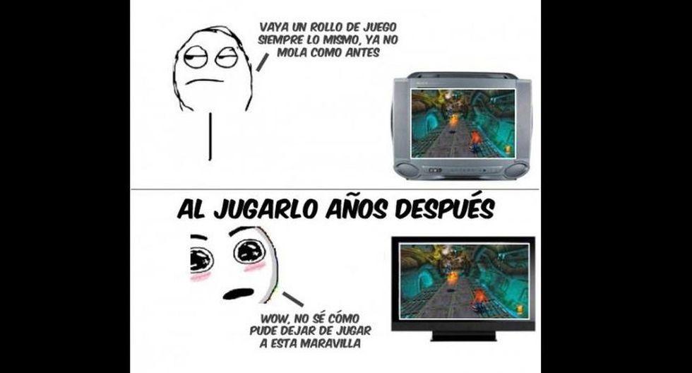 Memes por el Día del Gamer (Redes Sociales)