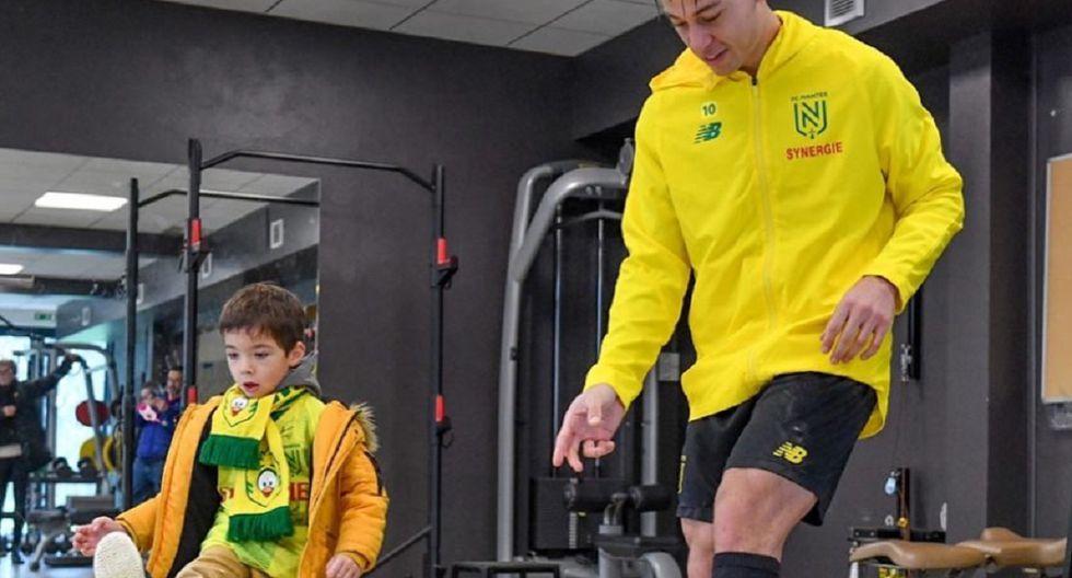 Cristian Benavente confesó que le gustaría jugar en el fútbol peruano.  (Fotos: Nantes)