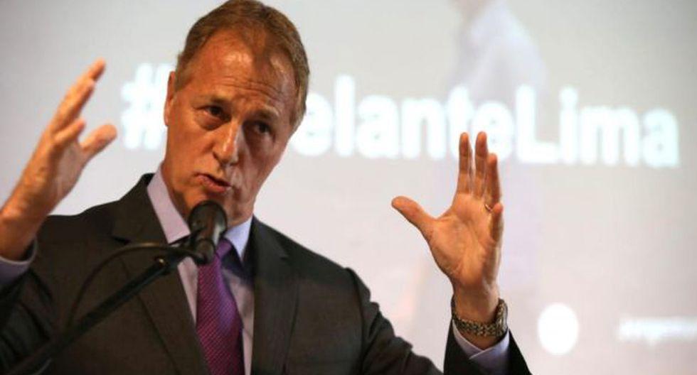 Muñoz remarcó que el próximo año recibirá 300 millones de soles menos de presupuesto para la Municipalidad de Lima. (Foto: USI)