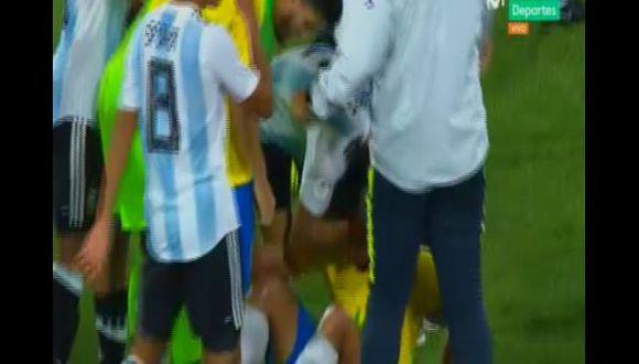 Argentina goleó a Brasil y avanzó al hexagonal final del Sudamericano Sub 17. (Captura: Movistar Deportes)