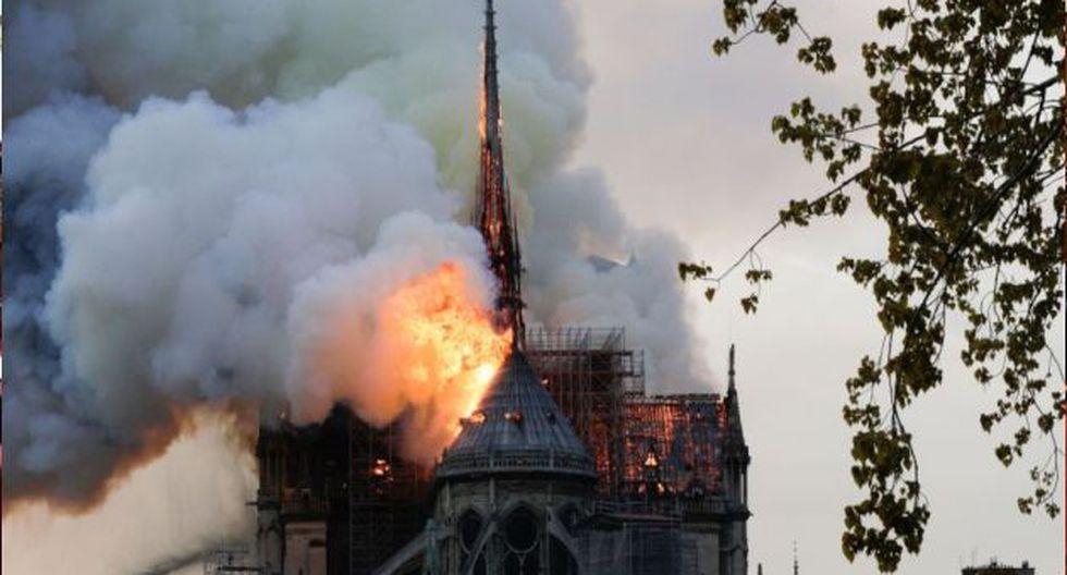 Incendio de Notre Dame: Investigación preliminar descarta origen criminal. (AFP)