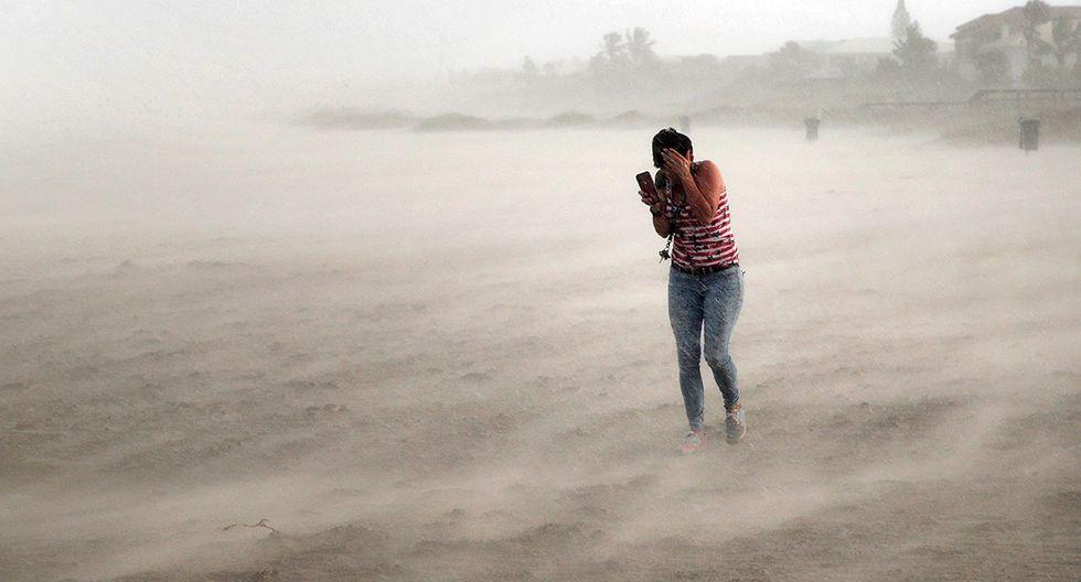 Una tormenta tropical se  sumaría al huracán Dorian y ello golpearía al golfo de México y el sur de Texas. (Foto referencial: AFP)
