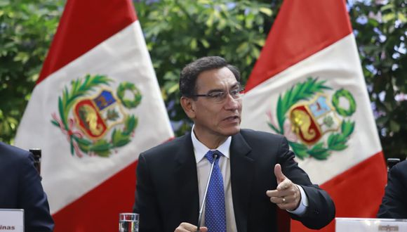 El presidente Martín Vizcarra se reunió con alcaldes de diferentes partes del Perú en Palacio de Gobierno. (Foto: Difusión)