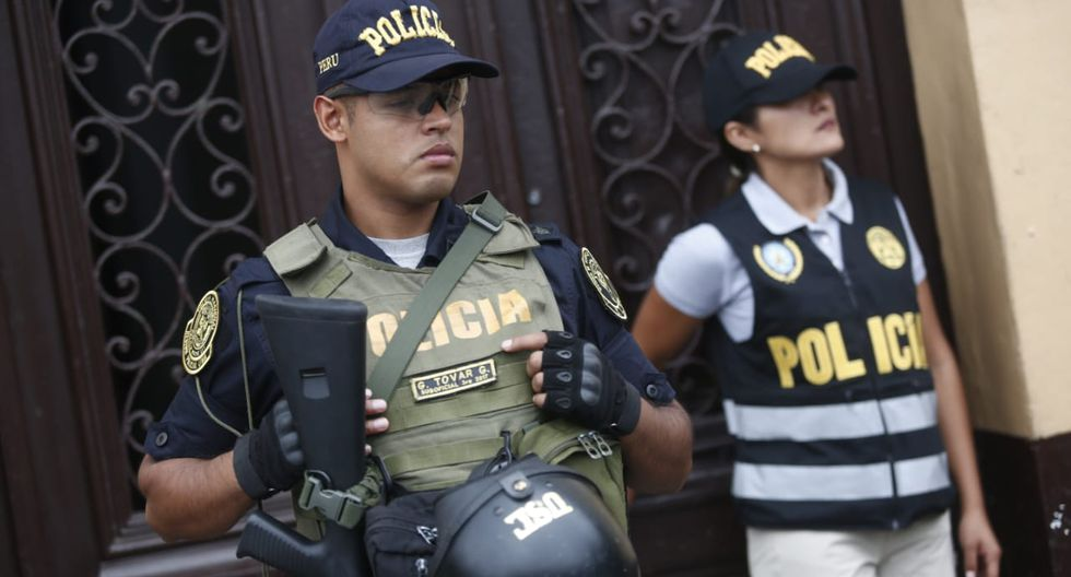 Este lunes 3 de febrero se realizó un nuevo allanamiento al local central de Fuerza Popular en el Centro de Lima. (Foto: César Grados / GEC)
