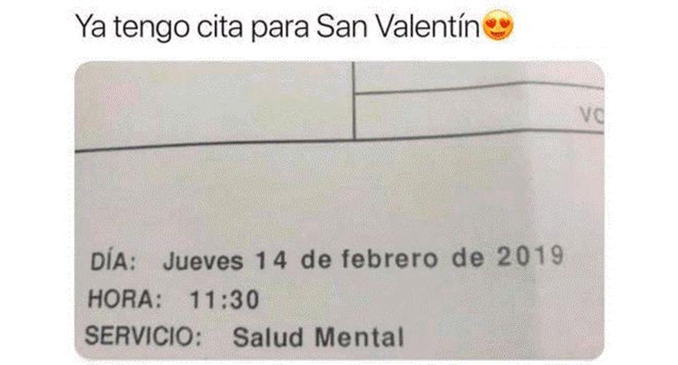 Los memes más divertidos por San Valentín (Facebook)