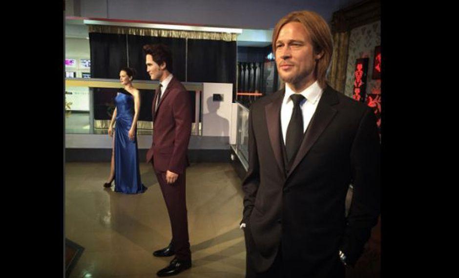 Madame Tussauds: el museo de cera separa las figuras de Brad Pitt y Angelina Jolie