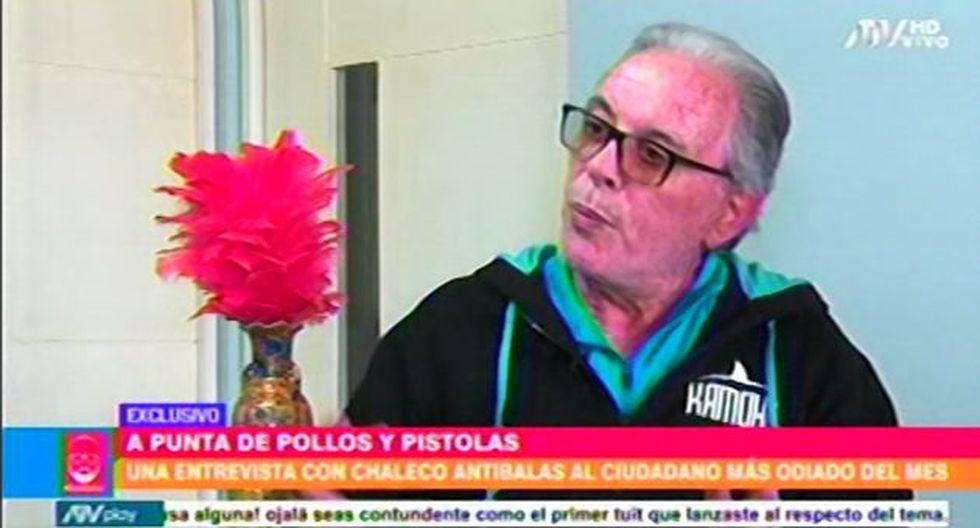 Manuel Liendo Rázuri dio una entrevista al programa de Beto Ortiz.