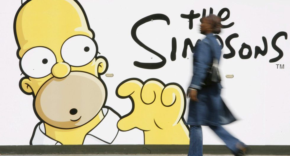 En el puesto 8 figura la serie animada Los Simpson. (Foto: EFE)