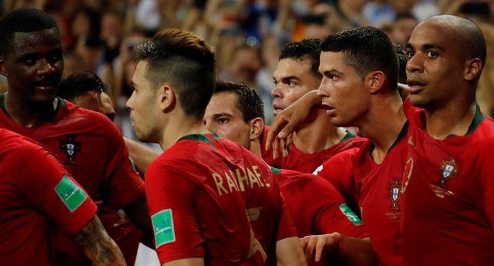 Cristiano Ronaldo anotó tres goles. (Foto: EFE)