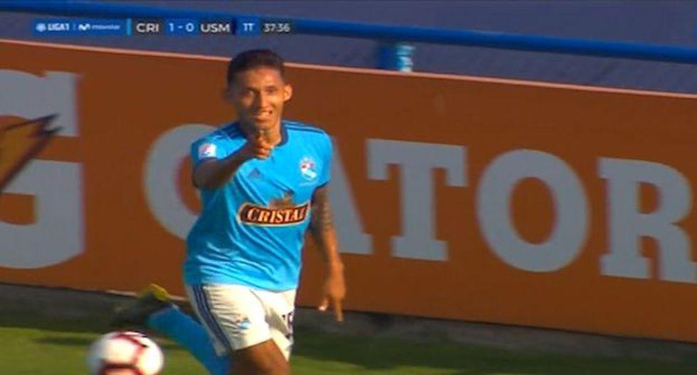 Christofer Gonzales anotó su segundo gol en el Torneo Apertura. (Captura: Gol Perú)