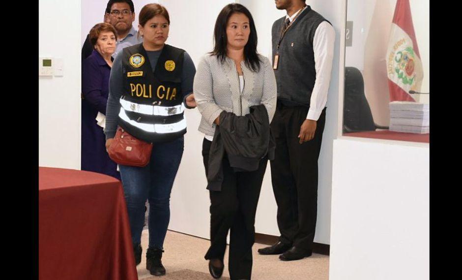 Keiko Fujimori: El 71% considera que su detención es justificada, según Ipsos