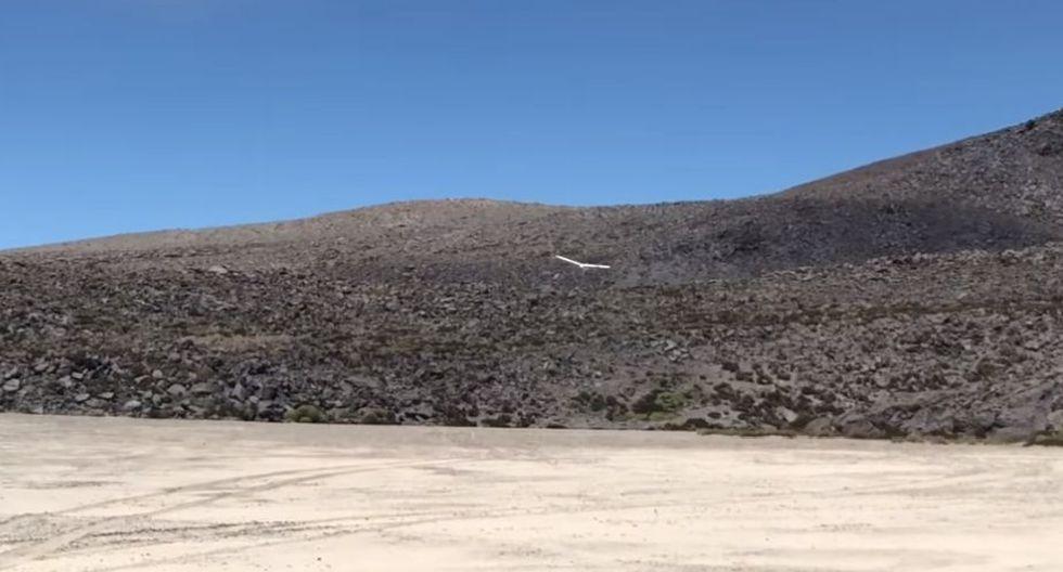 Los drones obtuvieron registro visual de un cuerpo de magma en la base del mismo cráter del volcán. (Foto: IGP)