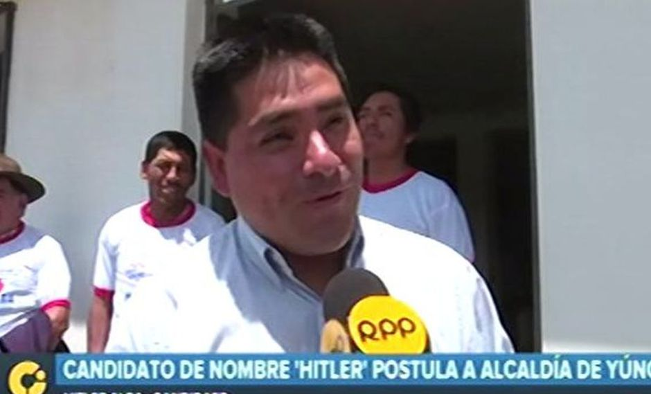 Hitler Alba Sánchez es un candidato por Somos Perú. (Video: RPP)