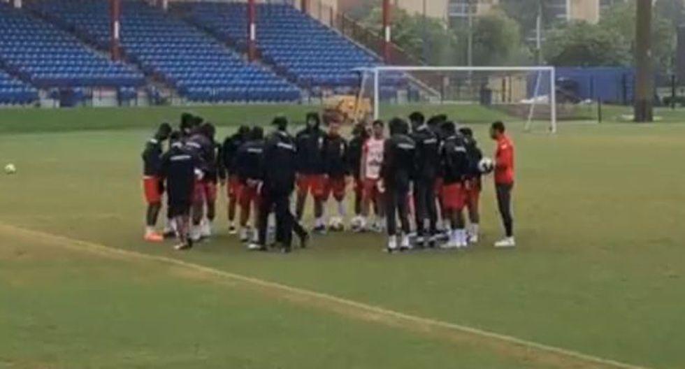 La selección peruana entrenaría en la tarde de este jueves. (Captura: Depor)