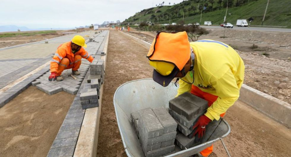 Los nuevos tramos se construyen en San Isidro y Miraflores. (MML)