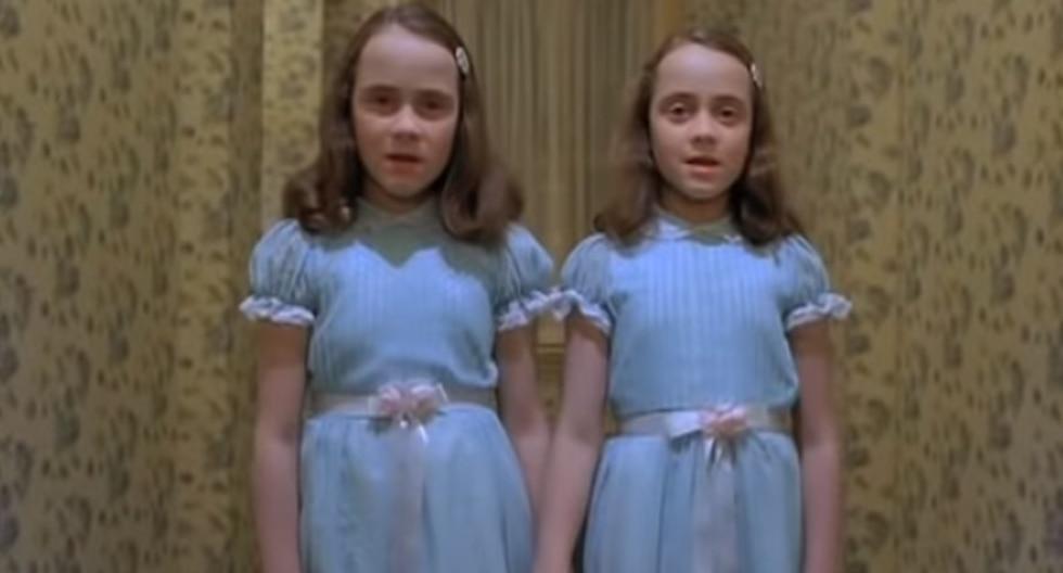 """""""The Shining"""" , una película de culto para los fanáticos del terror. (Capturas de pantalla)"""