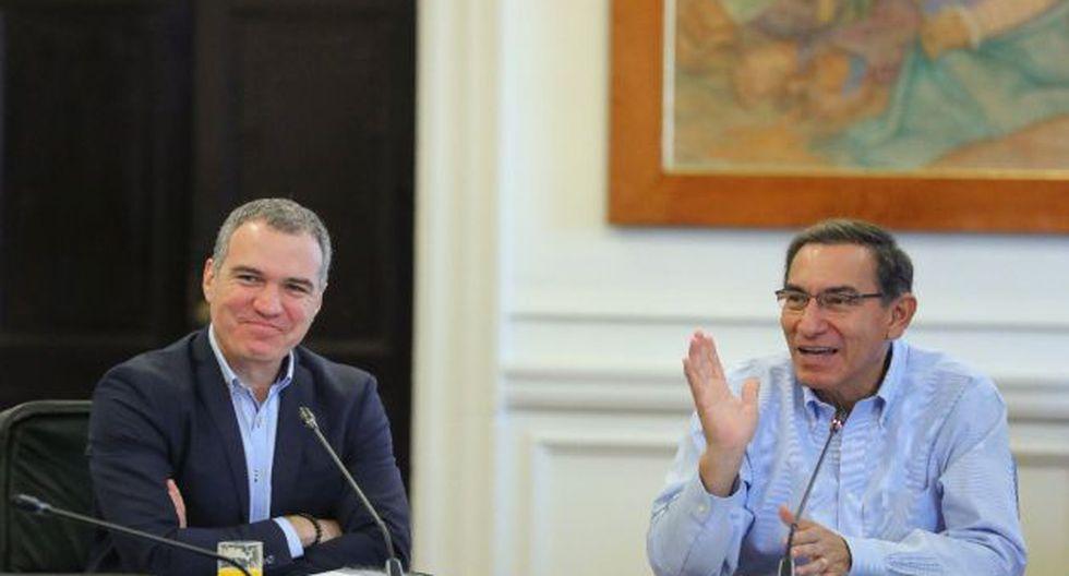 El presidente Martín Vizcarra se reunió con su equipo ministerial y envió un saludo por el Día del Trabajo. (Foto: Difusión)