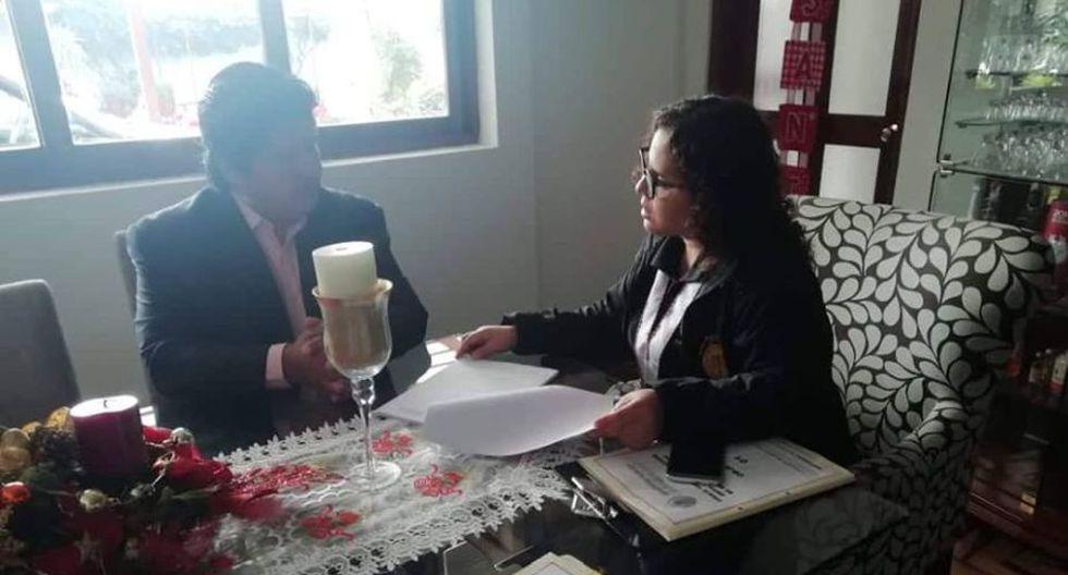 Edwin Oviedo fue intervenido por la fiscal a cargo del caso 'Los Cuellos Blancos del Puerto'. (Foto: Difusión)