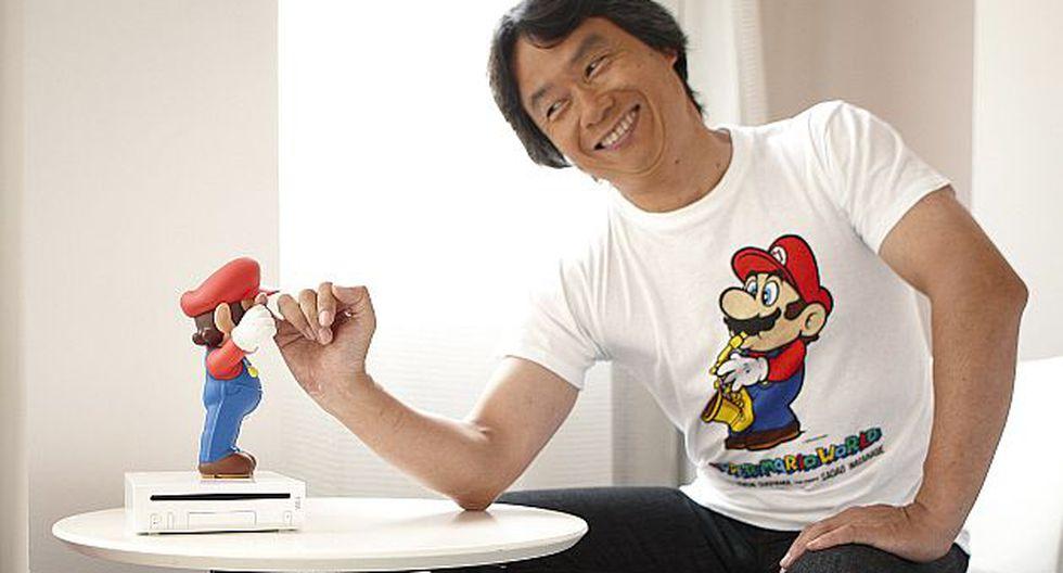 Shigeru Miyamoto (Foto: EFE)