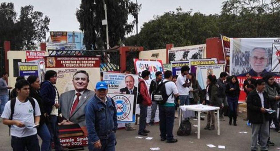 La UNMSM elige a sus autoridades. (Andina)