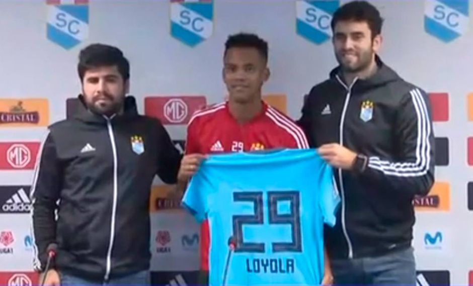 "Sporting Cristal presentó a Nilson Loyola: ""Quiero recuperar mi nivel a corto plazo"""