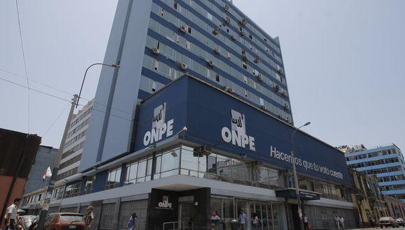 La jefatura de la ONPE está vacante tras la renuncia de Adolfo Castillo. (Foto: GEC)