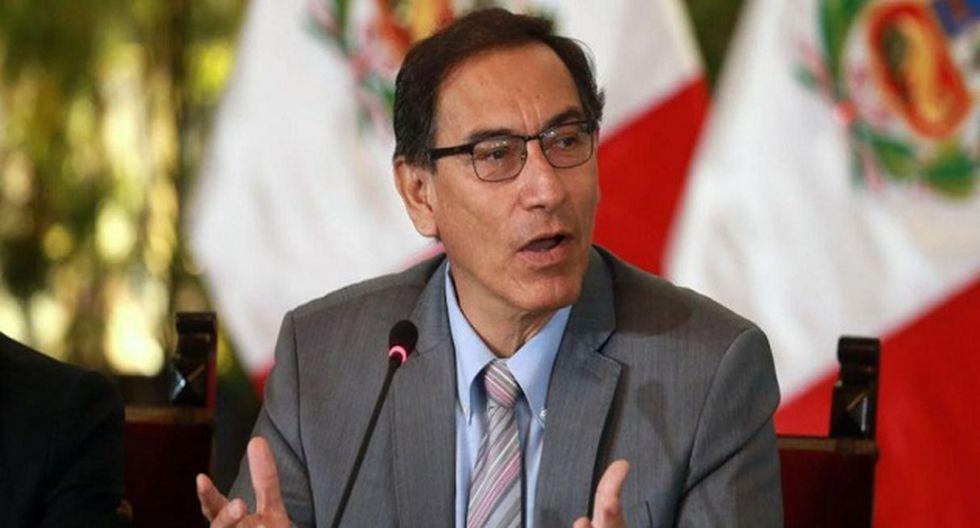 Martin Vizcarra declaró que el gobierno continuará con la lucha contra la violencia de género (Foto: USI)