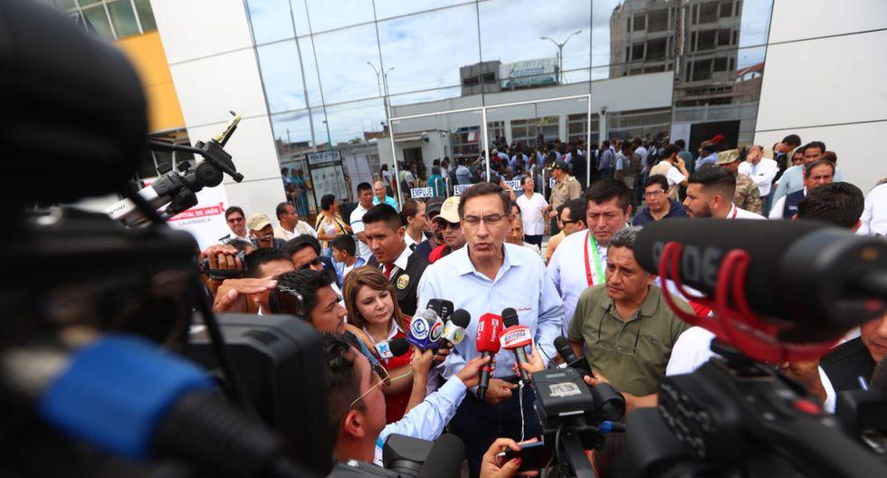 El presidente Martín Vizcarra dijo confiar en que tanto Hugo Coya como Eduardo Guzmán respetan la pluralidad, objetividad y libertad. (Foto: Alessandro Currarino / GEC)