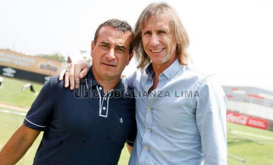 Hoy Alianza Lima entrenó en la Videna. (Foto: Andina)