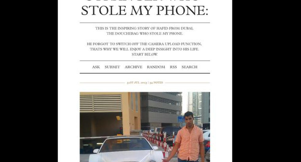 (Foto: Life of the stranger who stole my phone)