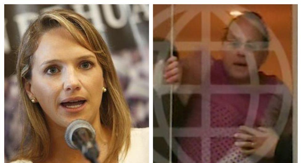 PNP y Fiscalía allanan inmuebles de Luciana León y Rómulo León Romero. (Foto: GEC/ Captura América Noticias)