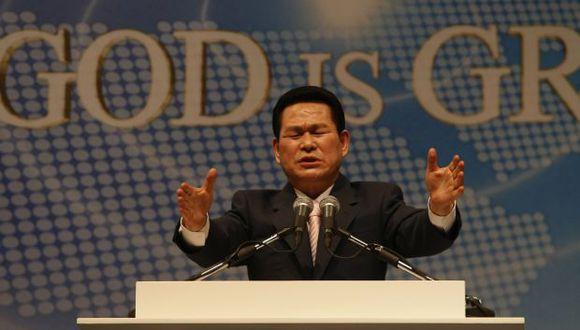 El líder de culto de Corea del Sur fue condenado el 22 de noviembre por la violación múltiple de ocho seguidores, algunas de las cuales creían que era Dios. (Foto: AFP)