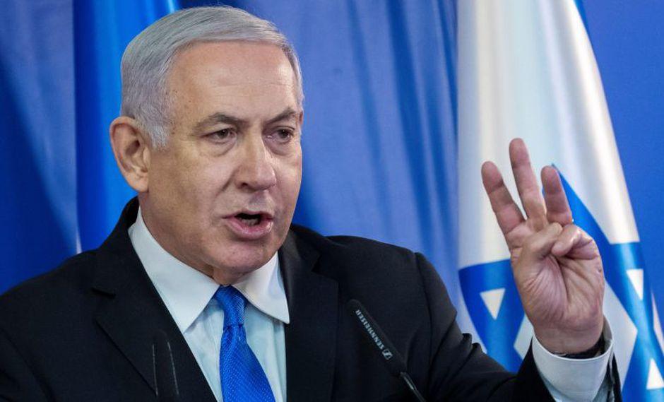 Benjamin Netanyahu, de 69 años, aspira a un quinto mandato. (Foto: EFE)