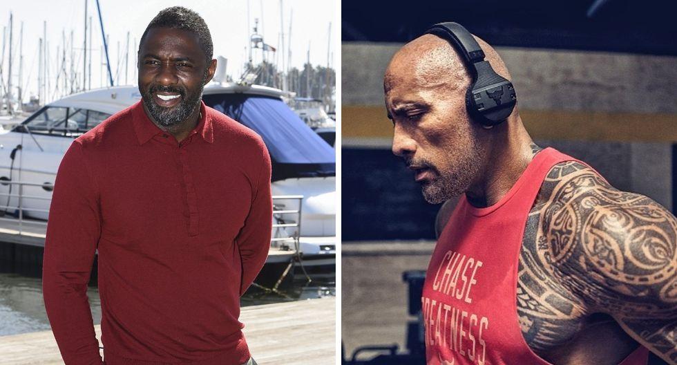 Dwayne Johson muestra por primera vez a Idris Elba como villano | Foto: EFE/Instagram