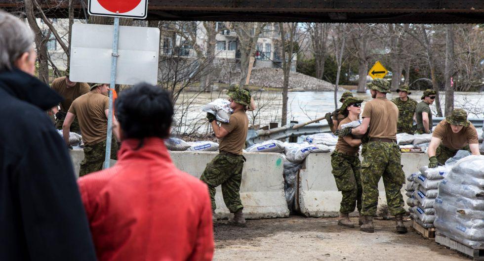 La ministra de Seguridad Pública de Quebec, Geneviève Guilbeault, lamentó que los residentes tuvieran que revivir esta pesadilla.(Foto: AFP)