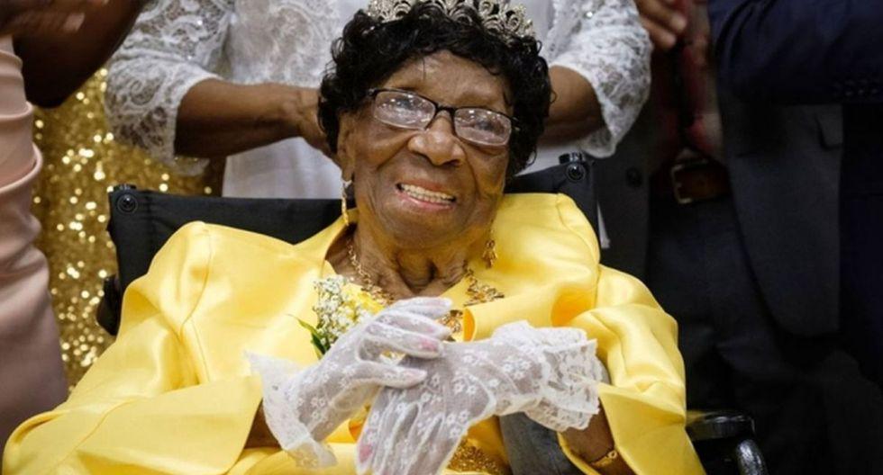 Muere a los 114 años Alelia Murphy, la mujer más anciana de Estados Unidos. (EFE)