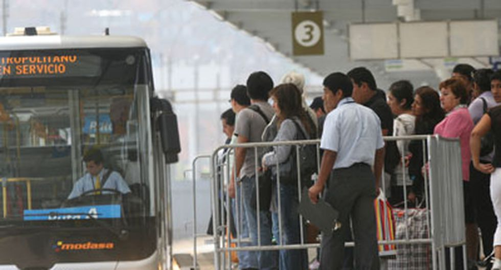 El Metropolitano tendrá un nuevo servicio expreso desde Comas. (GEC)