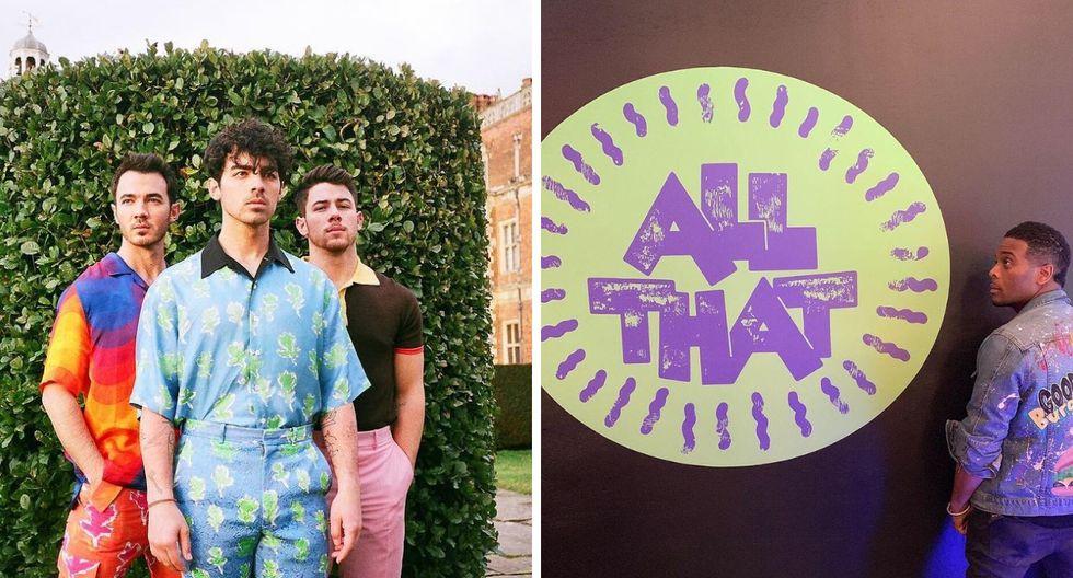 """Los Jonas Brothers interpretarán """"Sucker"""" en el estreno del reboot de """"All That"""" de Nickelodeon (Foto: @Nickelodeon)"""