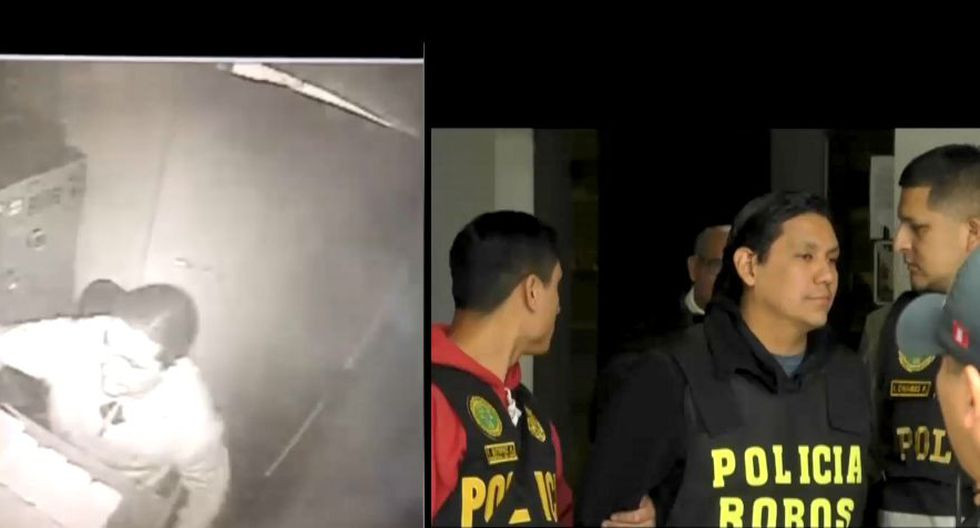 Yohan Francisco Matta Bahamonde es acusado de robo millonario. (Captura: América Noticias)