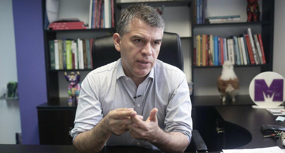 """Excandidato presidencial señaló que la separación de Mora fue una decisión necesaria """"por más dolorosa que sea"""". (GEC)."""